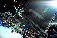 Xavier Bertoni lors des Winter X Games Europe 2012, le 16 mars 2012 à Tignes.