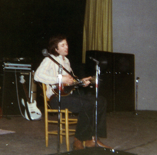 Ry Cooder (opening for Captain Beefheart, RIT, 1/27/71)