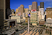 Image of Union Square in San Francisco, California, America west coast