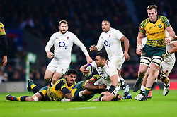 Ben Te'o of England - Mandatory by-line: Dougie Allward/JMP - 24/11/2018 - RUGBY - Twickenham Stadium - London, England - England v Australia - Quilter Internationals