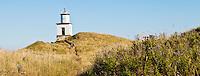 The light house at Cattle Point on San Juan Island, San Juan Island National Historical Park, Washington, USA.