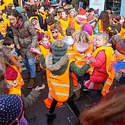 NLD/Voorburg/20190123 - POfficiële start inschrijving Koningsspelen 2019, Spelende kinderen