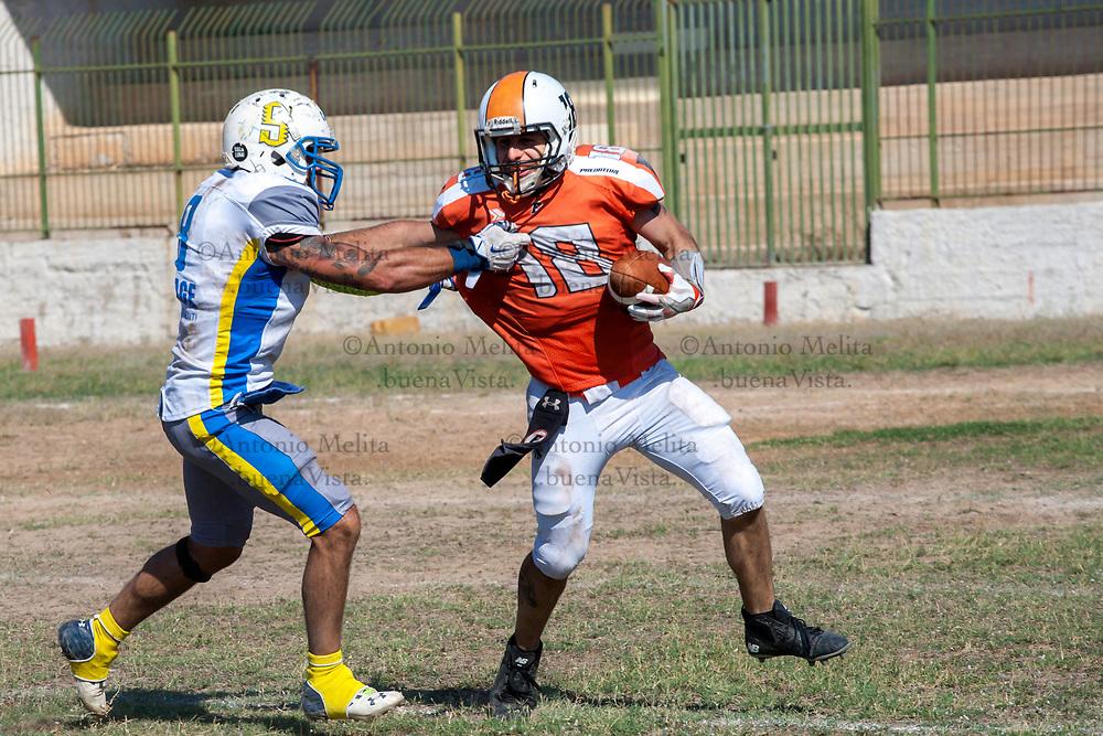 III divisione football americano: Sharks Palermo vs Predatori Golfo del Tigullio 49-7