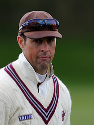 Somerset's Marcus Trescothick - Photo mandatory by-line: Harry Trump/JMP - Mobile: 07966 386802 - 04/04/15 - SPORT - CRICKET - Pre Season - Day 3 - Somerset v Durham MCCU - Taunton Vale, Somerset, England.