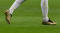 Football - 2018 / 2019 UEFA Nations League A - Group Four: England vs. Spain<br /> <br /> The Nike Golden boots made for Harry Kane (England) as a celebration of his winning the Golden Boot in the 2018 world cup at Wembley Stadium.<br /> <br /> COLORSPORT/DANIEL BEARHAM