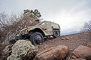 Israeli defence force (IDF) Halftrack armoured vehicle
