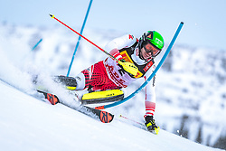 17.02.2019, Aare, SWE, FIS Weltmeisterschaften Ski Alpin, Slalom, Herren, 1. Lauf, im Bild Michael Matt (AUT) // Michael Matt of Austria in action during his 1st run of men's Slalom of FIS Ski World Championships 2019. Aare, Sweden on 2019/02/17. EXPA Pictures © 2019, PhotoCredit: EXPA/ Dominik Angerer