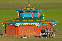 Mongolie. Centre d'initiation chamanique. Shaman. Chamane.  // Shamanisme initiation centre. Mongolia