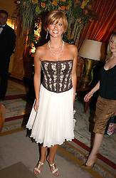 Caroline Feraday at a party to celebrate the opening of The Bar at The Dorchester, Park Lane, London on 27th June 2006.<br /><br />NON EXCLUSIVE - WORLD RIGHTS