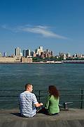 Brooklyn from South Street Seaport, downtown, Manhattan,New York,U.S.A.