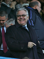 PORTSMOUTH, ENGLAND - SATURDAY, DECEMBER 9th, 2006: Bill Kenwright, chairman of Everton during the Premiership match at Fratton Park. (Pic by Chris Ratcliffe/Propaganda)