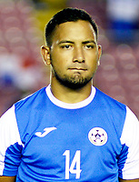 Concacaf Gold Cup Usa 2017 / <br /> Nicaragua National Team - Preview Set - <br /> Jason Eliezer Coronel