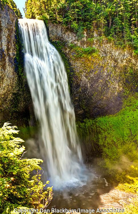 Salt Creek Falls inFull Flow in Oregon