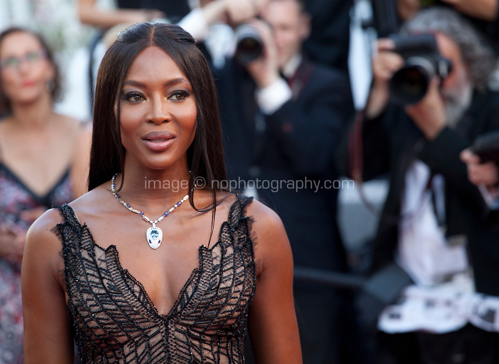 Naomi Campbell at the 70th Anniversary Ceremony arrivals at the 70th Cannes Film Festival Tuesday 23rd May 2017, Cannes, France. Photo credit: Doreen Kennedy