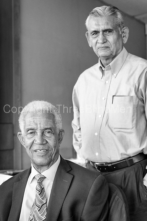 Sir Garfield Sobers and Mr. Michael Tissera.<br /> At the Colombo Oval. 25th October 2015