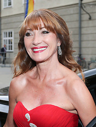 Jane Seymour during the Mont Blanc  Falstaff Salzburg Festival.<br /> The Salzburg Festival is a prominent festival of music and drama established in 1920. It is held each summer within the Austrian town of Salzburg, the birthplace of Wolfgang Amadeus Mozart,<br /> Austria,<br /> Monday, July 29, 2013<br /> Picture by Agentur Schneider-Press /NZ / i-Images<br /> UK & USA ONLY