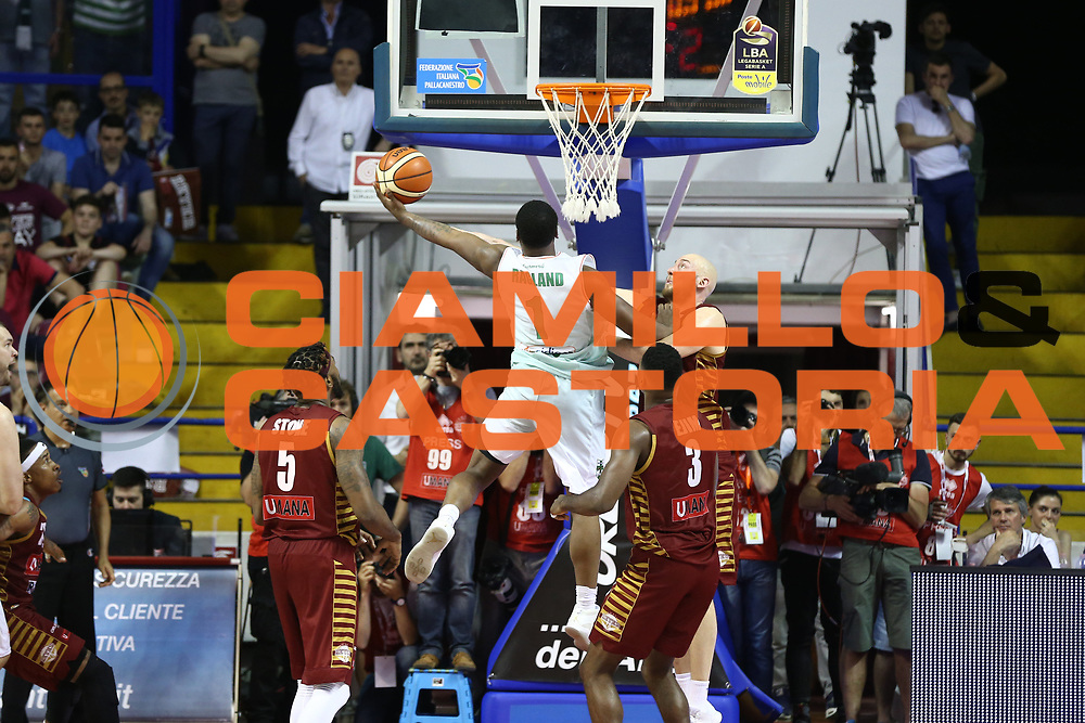Ragland Joe<br /> Umana Reyer Venezia vs Sidigas Avellino<br /> Lega Basket Serie A 2016/2017<br /> Play Off SemiFinali Gara 1<br /> Venezia,26/05/2017<br /> Foto Ciamillo-Castoria/A. Gilardi