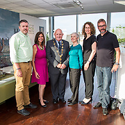19.06. 2017.                                             <br /> University of Limerick hosts the 5th Global Conference on Transparency Research.<br />  Attending the launch of the event in King Johns Castle were, Chris McInerney, UL, Cori Zarek, Mozilla, Mayor of Limerick City and County, Cllr. Kieran O'Hanlon, Patrice McDermott, Government Information Watch, Suzanne Piotrowski, Rutgers University and Albert Meijer, Utrecht University. Picture: Alan Place