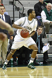 15 December 2012: Eric Dortch  during an NCAA mens division 3 basketball game between theUniversity of Chicago Maroons and the Illinois Wesleyan Titans in Shirk Center, Bloomington IL