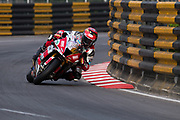 Gary JOHNSON, Briggs Equipment Kawasaki, Kawasaki<br /> 64th Macau Grand Prix. 15-19.11.2017.<br /> Suncity Group Macau Motorcycle Grand Prix - 51st Edition<br /> Macau Copyright Free Image for editorial use only