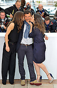 16.MAY.2013. CANNES<br /> <br /> G&Egrave;RALDINE PAILHAS, MARINE VACTH AND FRAN&Aacute;OIS OZON ATTENDS THE JEUNE &amp; JOLIE PHOTOCALL DURING THE 66TH ANNUAL CANNES FILM FESTIVAL AT THE RIVIERA TERACE IN CANNES, FRANCE.<br /> <br /> <br /> BYLINE: EDBIMAGEARCHIVE.CO.UK/CHRISTIAN ALMINANA/INSIGHTMEDIA<br /> <br /> *THIS IMAGE IS STRICTLY FOR UK NEWSPAPERS AND MAGAZINES ONLY*<br /> *FOR WORLD WIDE SALES AND WEB USE PLEASE CONTACT EDBIMAGEARCHIVE - 0208 954 5968*