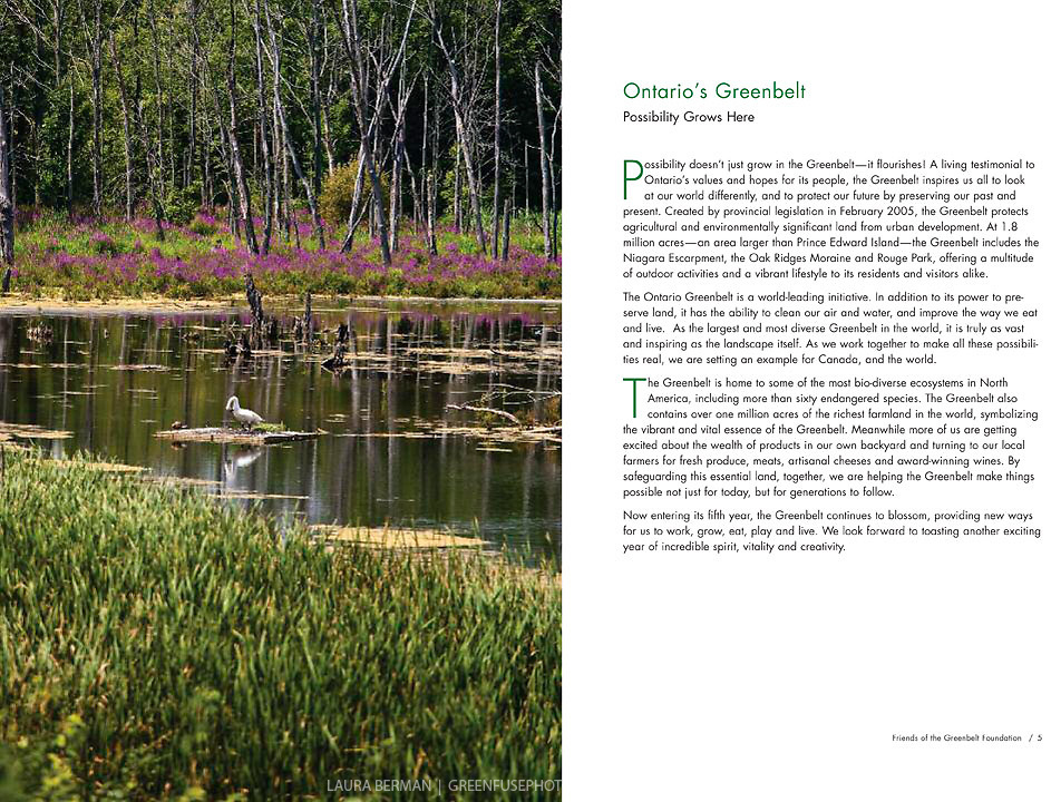 Friends of the Greenbelt Foundation Annual Report 2008-2009