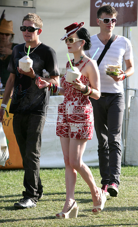 26th April 2008, Coachella, California. Dita Von Tesse, at the Coachella Music festival..PHOTO © JOHN CHAPPLE / DIGITAL BEACH MEDIA.tel: +1-310-570-9100.e: john@digitalbeachmedia.com.w: www.digitalbeachmedia.com