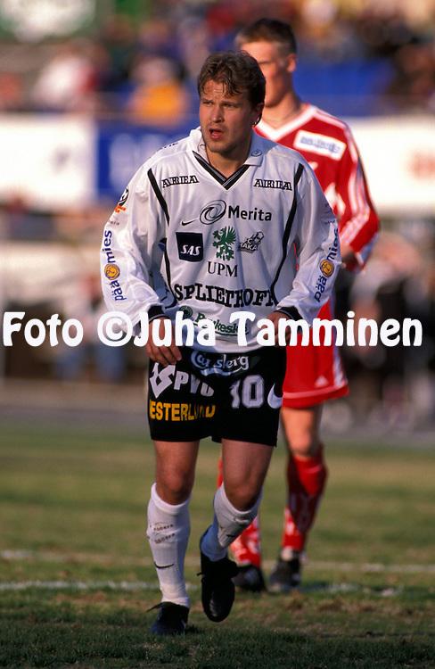 16.05.1999, Valkeakoski, Finland. .Veikkausliiga.Kai Nyyss?nen - FC Haka.©JUHA TAMMINEN