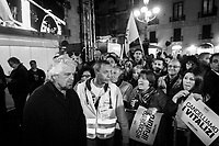 CATANIA, ITALY - 28 OCTOBER 2017: in Catania, Italy, on October 28th 2017. <br /> <br /> The Sicilian regional election for the renewal of the Sicilian Regional Assembly and the election of the President of Sicily will be held on 5th November 2017.