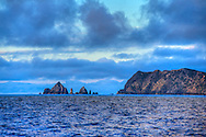 The Needles at the most northern tip of Great Barrier Island.
