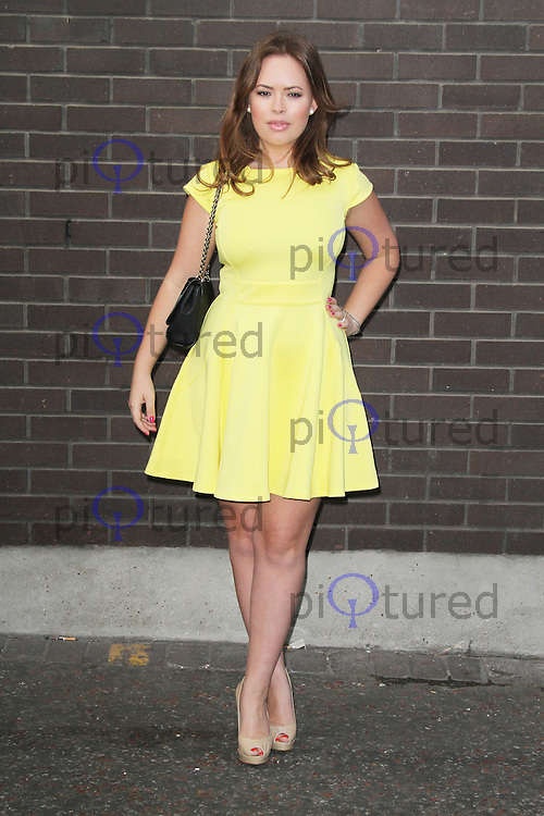 Tanya Burr, Chickenshed charity event, London Television Centre UK, 16 April 2013, (Photo by Richard Goldschmidt)