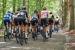 Back of the peloton during 2019 Dutch National Road Race Championships Men Elite, Ede, The Netherlands, 30 June 2019, Photo by Pim Nijland / PelotonPhotos.com | All photos usage must carry mandatory copyright credit (Peloton Photos | Pim Nijland)