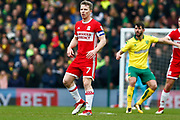 Middlesbrough midfielder Grant Leadbitter (7) during the EFL Sky Bet Championship match between Norwich City and Middlesbrough at Carrow Road, Norwich, England on 3 February 2018. Picture by Phil Chaplin.