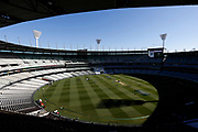 A general view of the MCG before the Magellan fourth test match between Australia v England at  the Melbourne Cricket Ground, Melbourne, Australia on 26 December 2017. Photo by Mark  Witte.