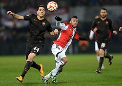 26-02-2015 NED: Europa League Feyenoord - AS Roma, Rotterdam<br /> In the photo / Kostas Manolas #44