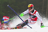 06012013 - Hirscher takes the win again at slalom race for Snow Queen trophy