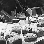 Bread and food, at Glastonbury, 1989.
