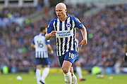 Brighton & Hove Albion midfielder Aaron Mooy in action during the Premier League match between Brighton and Hove Albion and Crystal Palace at the American Express Community Stadium, Brighton and Hove, England on 29 February 2020.