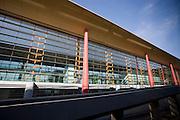 New Terminal Three building at Beijing Capital International Airport, China