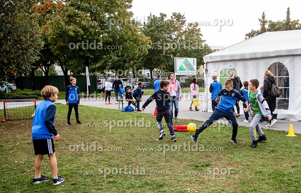 during football match between NK Bravo and NK Celje in 13th Round of Prva liga Telekom Slovenije 2019/20, on October 5, 2019 in ZAK stadium, Ljubljana, Slovenia. Photo by Vid Ponikvar / Sportida