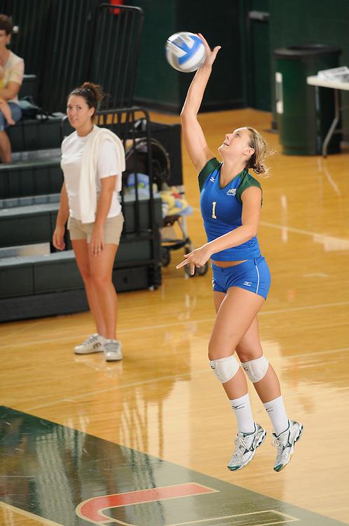 2009 Florida Gulf Coast University Volleyball vs Prairie View A&M