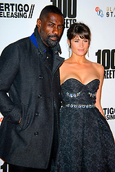 Idris Elba and Gemma Arterton arriving at the premiere of 100 Streets at the BFI on November 8 2016 in New York City. EXPA Pictures © 2016, PhotoCredit: EXPA/ Avalon/ Famous<br /> <br /> *****ATTENTION - for AUT, SLO, CRO, SRB, BIH, MAZ, SUI only*****