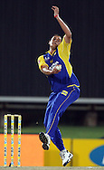 CENTURION, SOUTH AFRICA - 9  January 2009, Rory Kleinveldt during the MTN Domestic Championship Semi Final match between The Nashua Titans and The Nashua Cape Cobras held at SuperSport Park, Centurion, South Africa..Photo by Barry Aldworth/SPORTZPICS