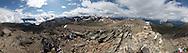 360 degree panorama of Indian Ridge, Jasper National Park