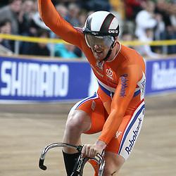 Roy van de Berg wordt Nederlands kampioen op de sprint