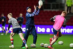 Bruce Reihana skills coach of Bristol Rugby  - Mandatory by-line: Alex Davidson/JMP - 08/12/2017 - RUGBY - Ashton Gate Stadium - Bristol, England - Bristol Rugby v Leinster 'A' - B&I Cup
