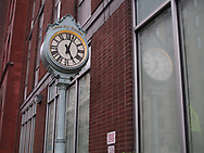 Lenox Hill Hospital Clock, dedicated to James S. Marcus, Chairman, Board of Trustees 1993-2003, and to our Trustees, Physicians, Nurses, Staff, Auxilians, Volunteers, and Supporters whose time, dedication and skills help improve the health of our community.