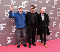 "Glasgow Film Festival, Sunday 3rd March 2019<br /> <br /> UK Premiere of ""Final Ascent""<br /> <br /> Pictured: Hamish MacInnes, Robbie Fraser and Sir Michael Palin<br /> <br /> Alex Todd 