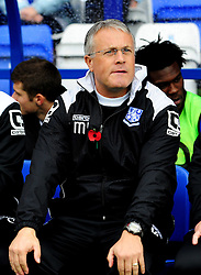 Tranmere Rovers Manager, Micky Adams - Photo mandatory by-line: Neil Brookman/JMP - Mobile: 07966 386802 - 08/11/2014 - SPORT - Football - Birkenhead - Prenton Park - Tranmere Rovers v Bristol Rovers - FA Cup - Round One