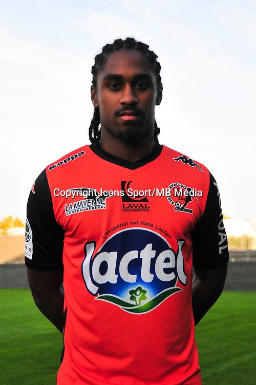 Wesley Said - 17.09.2014 - Photo officielle Laval - Ligue 2 2014/2015<br /> Photo : Philippe Le Brech / Icon Sport
